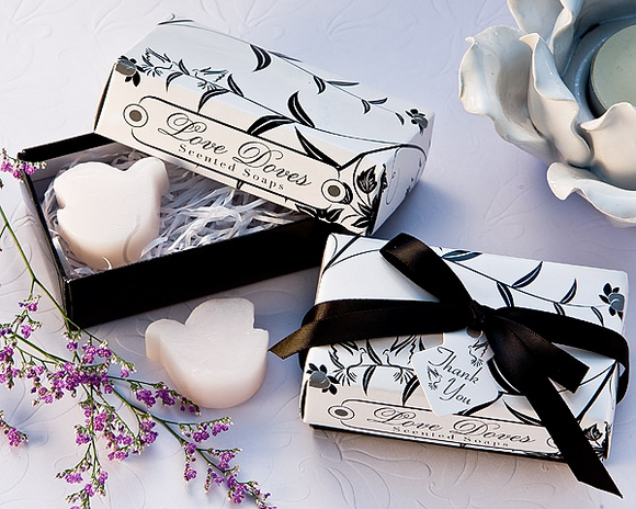 Love Dove Scented Soaps Favor