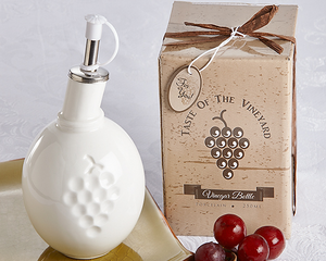 """Taste of the Vineyard"" Vinegar Bottle - InCasaGifts"