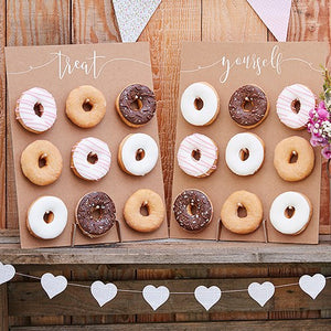 Donut Wall Display - Rustic Country