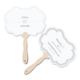 Personalized Wedding Hand Fans Canada
