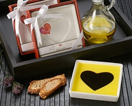 Olive Oil and Dipping Dish Favors