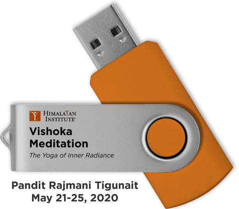 Vishoka Meditation: USB Audio