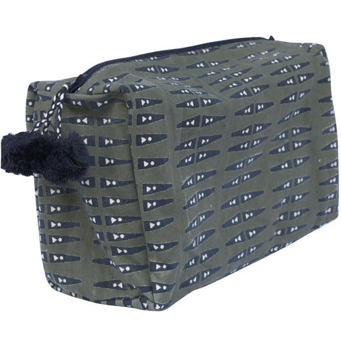 Ana Olive Toiletry Bag