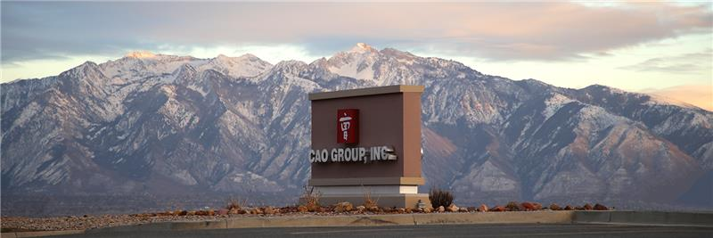 CAO Sign & Utah Mountains