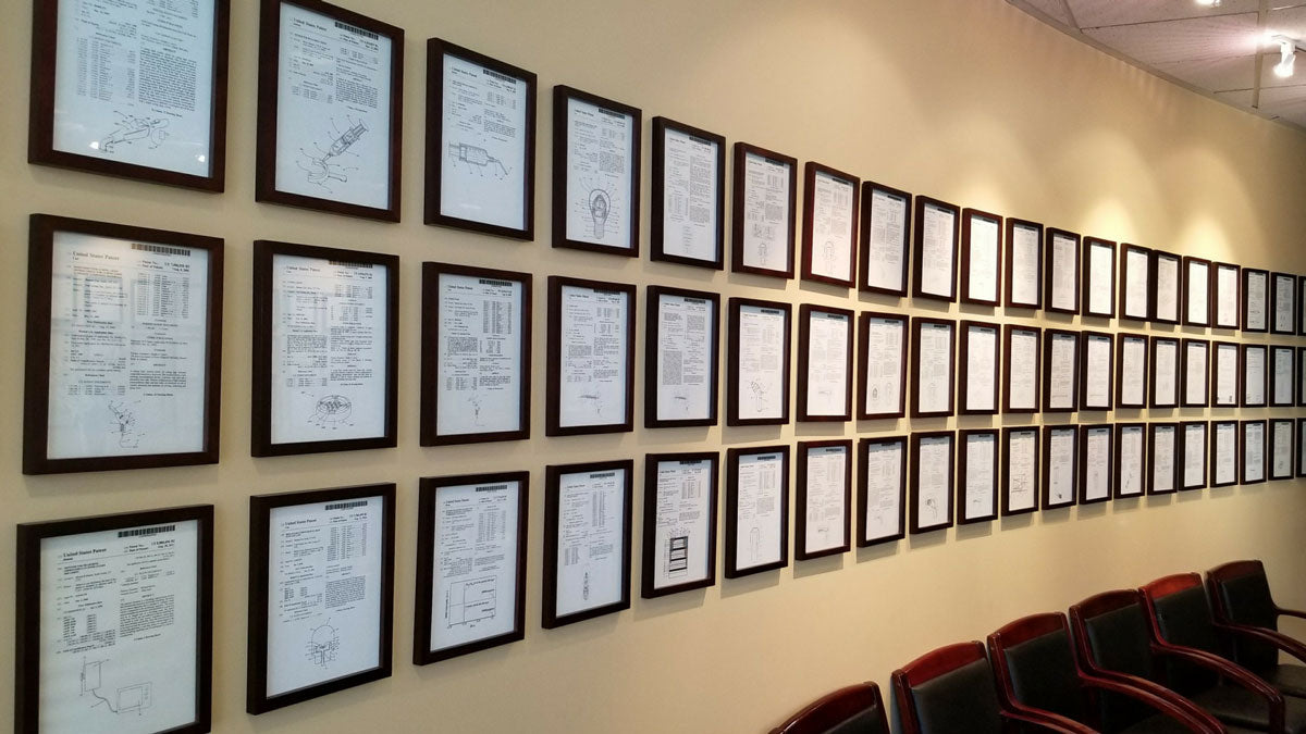 Patents Wall