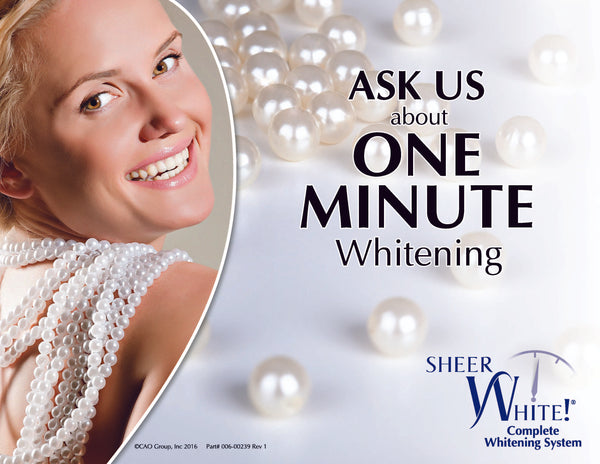 Sheer White! In-Office Patient Flyer