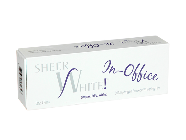Sheer White! In-Office