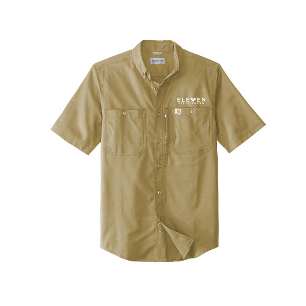 Eleven Fifty Seven Short Sleeve Button Up Carhartt Shirt