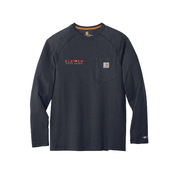 Eleven Fifty Seven Carhartt Long Sleeve Pocket Tee