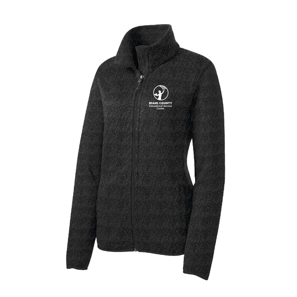 Miami County ESC Ladies Fleece Jacket