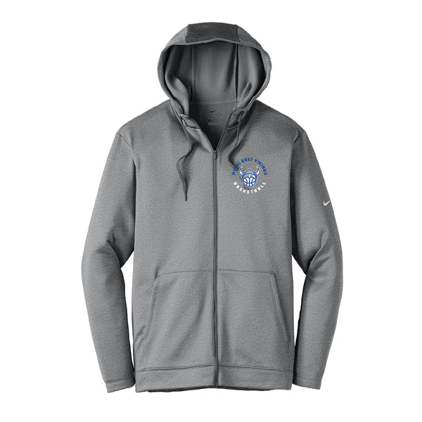 Miami East Basketball Nike Unisex Dri Fit Full Zip Hoodie REQUIRED High School