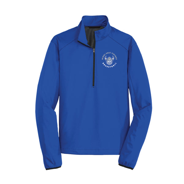 Miami East Basketball Soft Shell 1/2 Zip