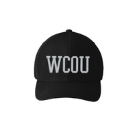 WCOU 6 Stitch Fitted Umpire Hat