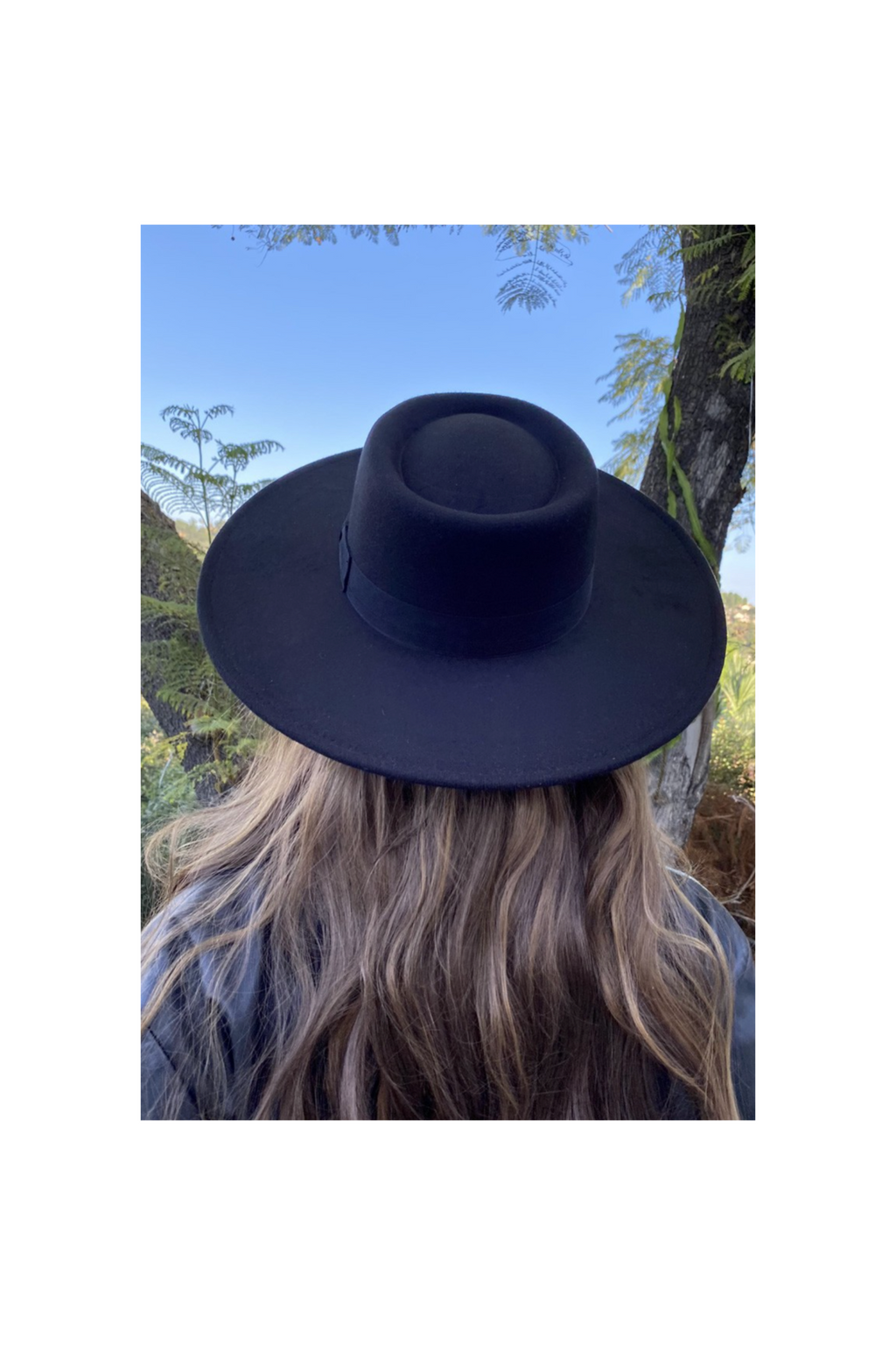 """PETRA"" BOATER HAT - BLACK - TOXIC ENVY BOUTIQUE"