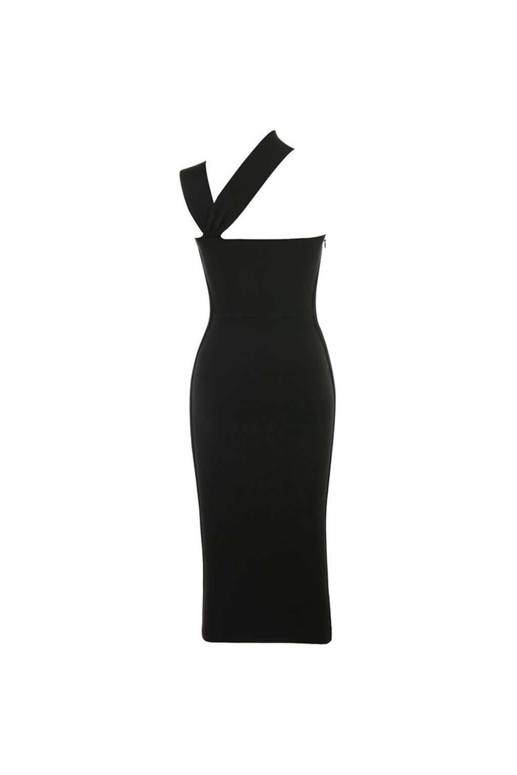 """SERI"" MIDI BANDAGE DRESS-BLACK - TOXIC ENVY BOUTIQUE"