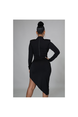 """ALL YOU"" TWO PIECE SKIRT SET-BLACK - TOXIC ENVY BOUTIQUE"