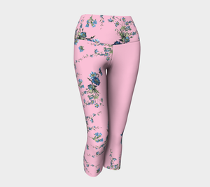Fancy Floral Capri
