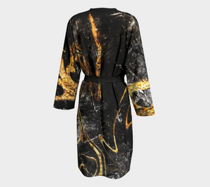 Black and Gold Robe
