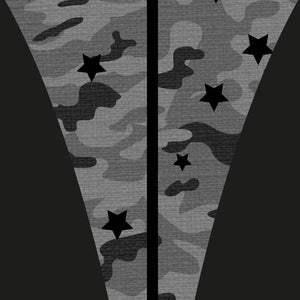 Grey Camo Star Big Kids