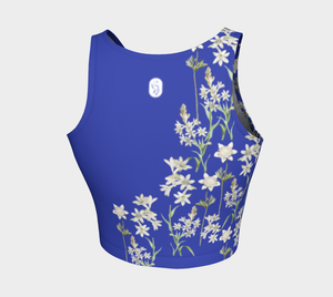 Blue Floral Top NEW