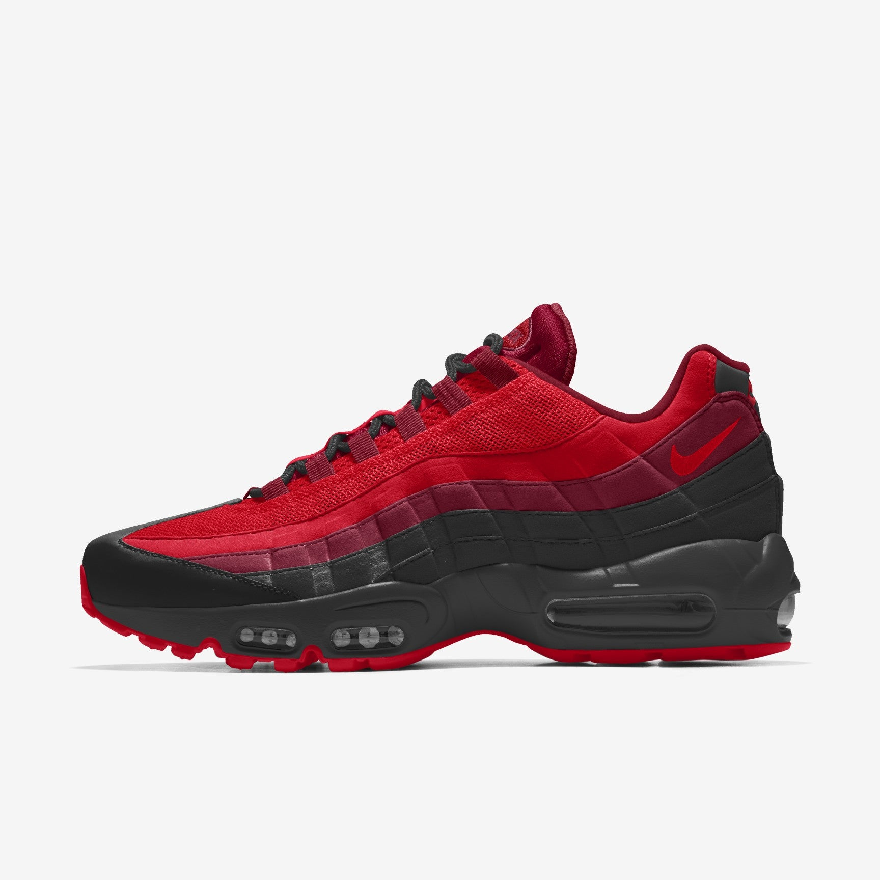 Red Fire Nike Air Max 95 Custom