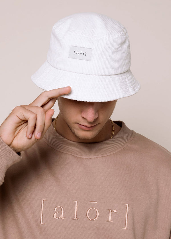 Cord Bucket Hat - Alor The Label
