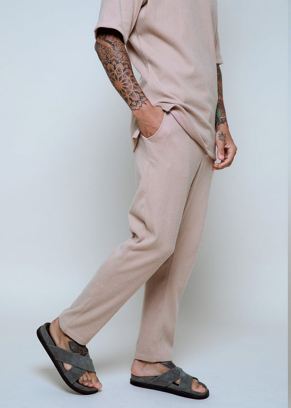 Cord Pants Beige - Alor The Label