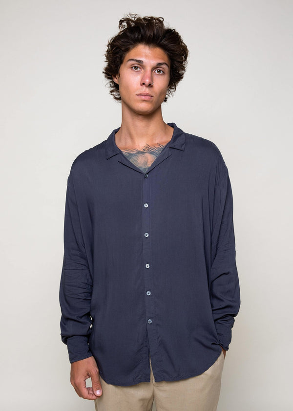 Depp Shirt - Naval - Alor The Label