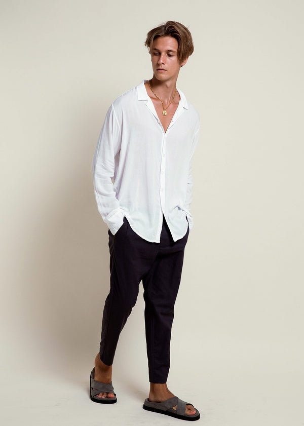 Depp Shirt - Off White - Alor The Label