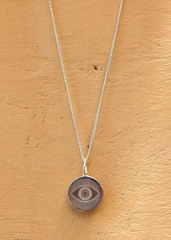 Eye Medallion Silver - Alor The Label