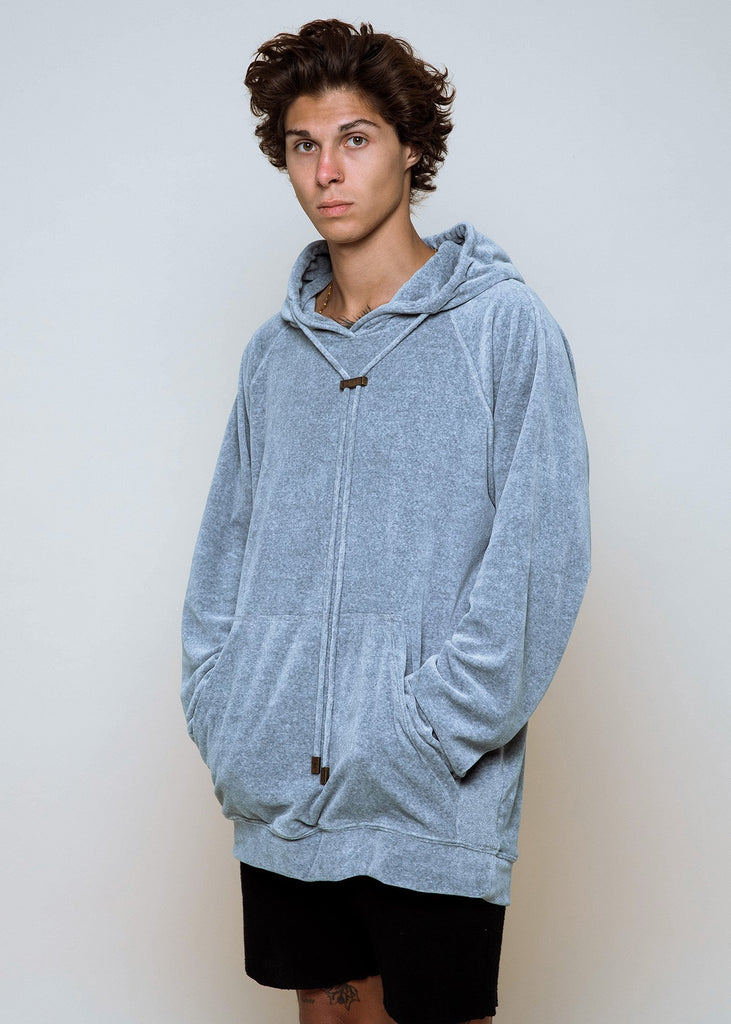Misty Velour Hoodie - Alor The Label