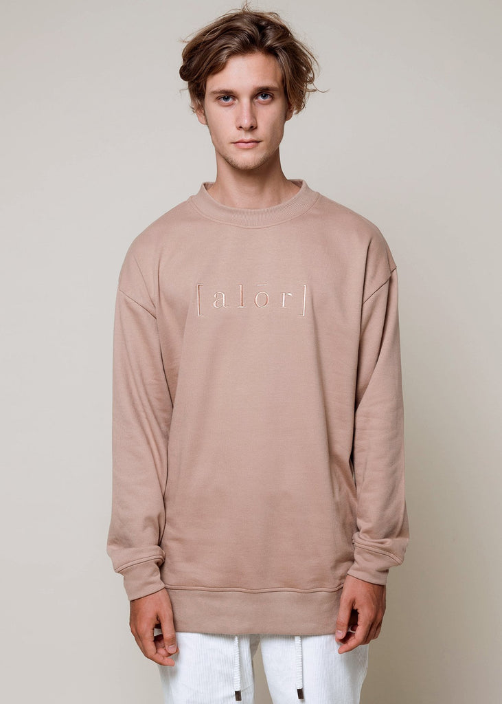 Oversized Caramel Sweater - Alor The Label