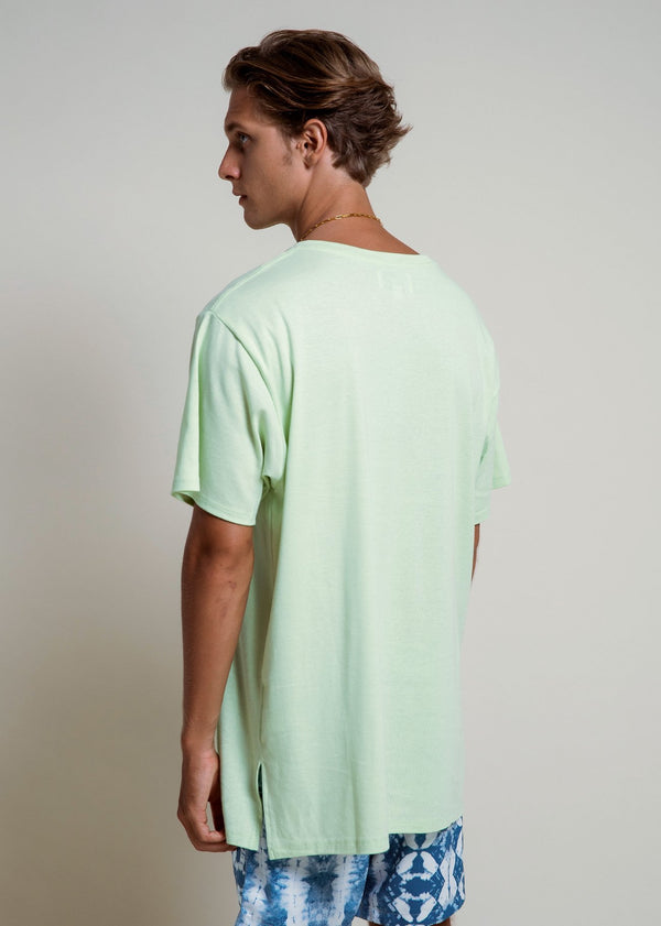 Oversized T - Lime Green - Alor The Label