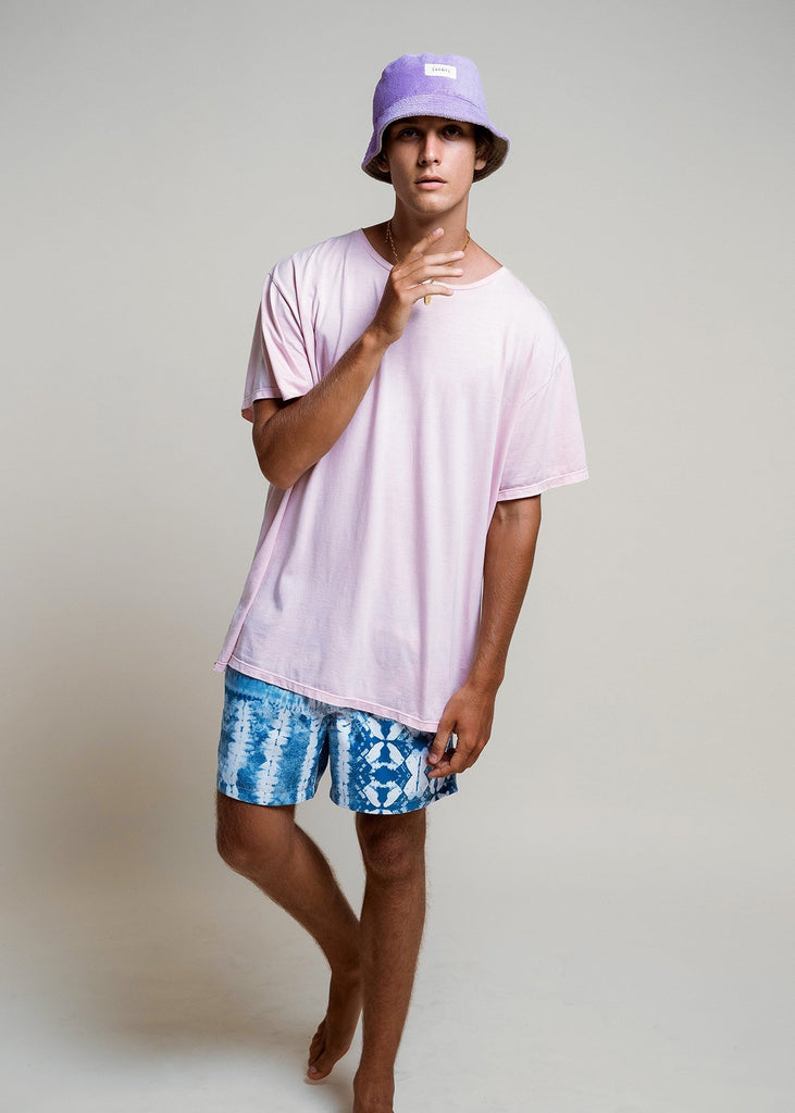Oversized T - Muted Pink - Alor The Label