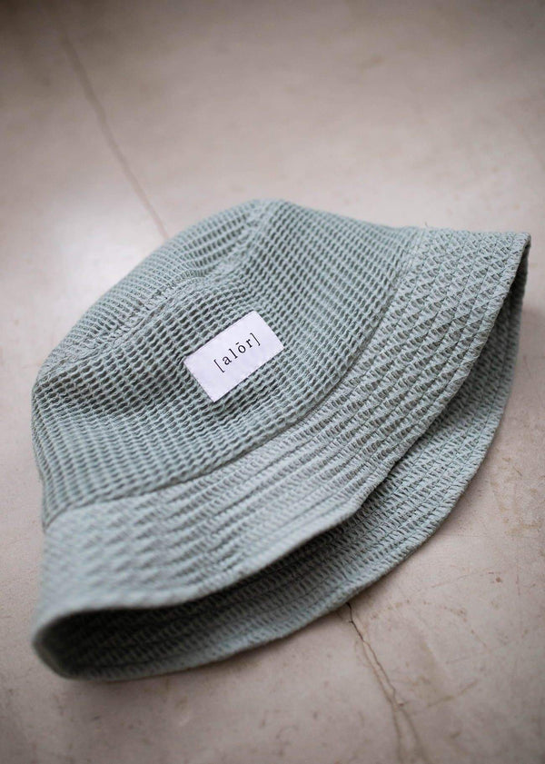 Waffle Bucket Hat - Alor The Label