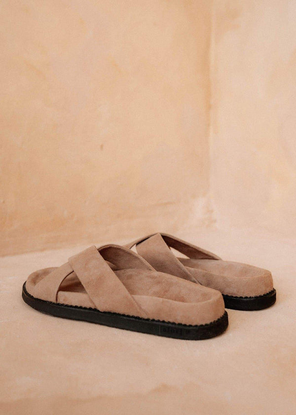 Womens Dark Sand Sandals - Alor The Label