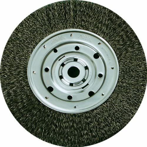 United Abrasives-SAIT 09558 6-Inch by .014-Inch by 1/2-Inch 5/8 Bench Wire Wheel Narrow, 1-Pack