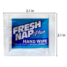Load image into Gallery viewer, Kari-Out Fresh Nap Plus Sanitizing Hand Wipes w/Alcohol, 1000/CS