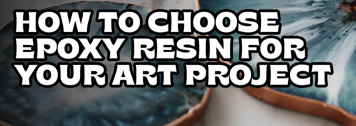 Instructions for epoxy resin art work, casting and molds