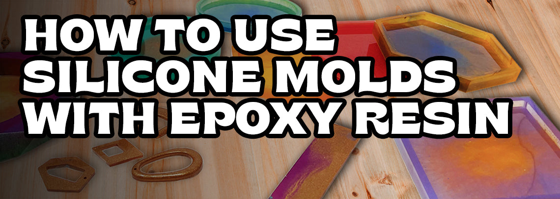 A step by step guide on how to use silicone molds with epoxy