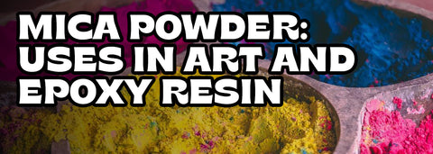 How to mix mica powder with epoxy resin