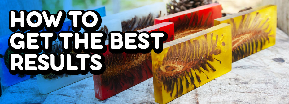 How to get the best results from epoxy resin