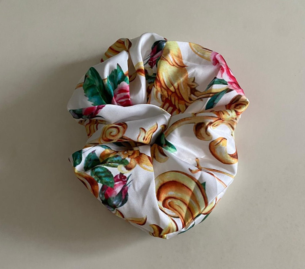 Mini Me Rose Scrunchy