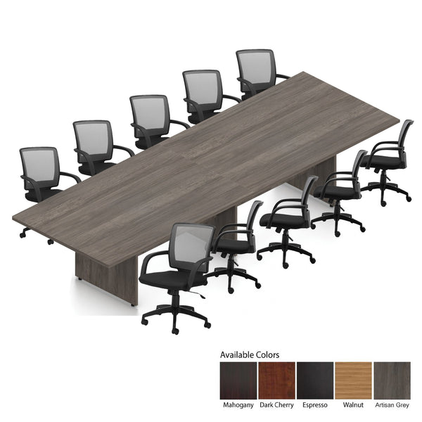 12ft. Conference Table with 10 Chairs (G10900B)