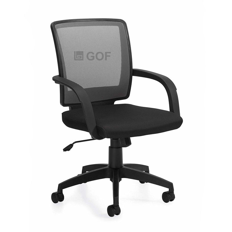 GOF 2 Person Separate Workstation Cubicle (5.5'D  x 12'W x 4'H-W) / Office Partition, Room Divider - Kainosbuy.com