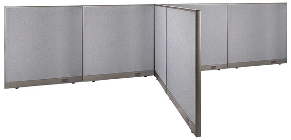 GOF Office T-Shaped Partition 84D x 192W x 48H - Kainosbuy.com