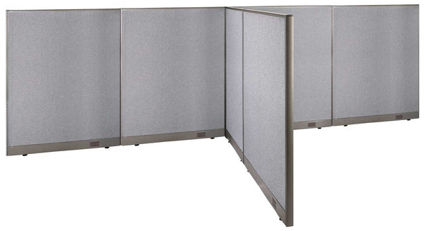GOF Office T-Shaped Partition 84D x 192W x 60H - Kainosbuy.com