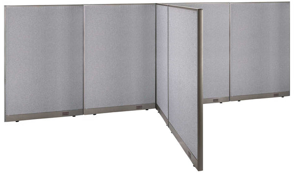 GOF Office T-Shaped Partition 84D x 192W x 72H - Kainosbuy.com