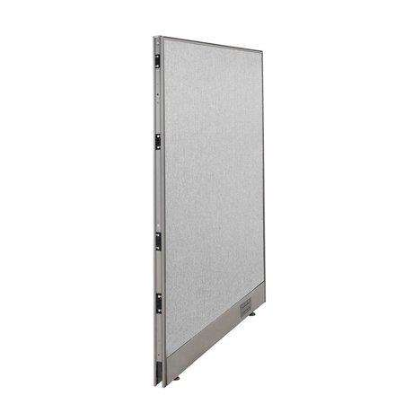 GOF Single Full Fabric Office Partition <br>24w x 48h - Kainosbuy.com
