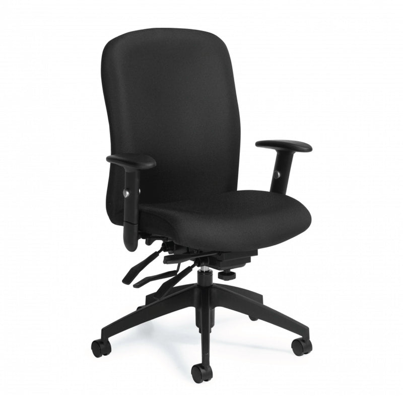 Truform High Back Multi-Tilter Heavy Duty Chair - Kainosbuy.com